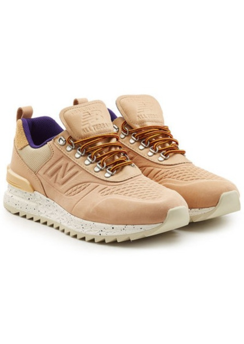 design de qualité 4d064 ba38c Trailbuster Sneakers in Leather and Suede