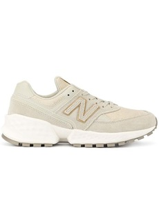 New Balance two tone low top sneakers