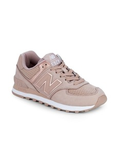 New Balance WL574 Nubuck Sneakers