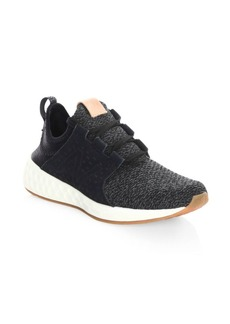 New Balance Women's Cruz Perforated Knitted Sneakers