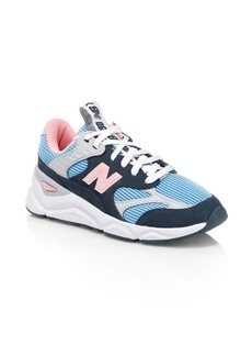 New Balance Women's X-90 Patchwork Mesh & Suede Sneakers