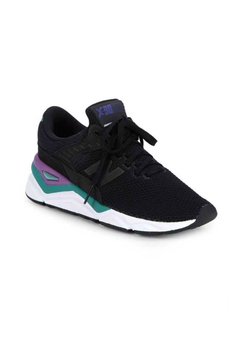 New Balance X90 Round Toe Sneakers