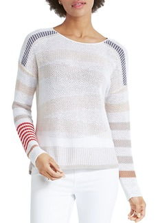 NIC + ZOE Petites Cannon Striped Sweater
