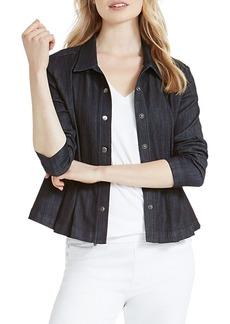 NIC + ZOE Peplum Denim Jacket