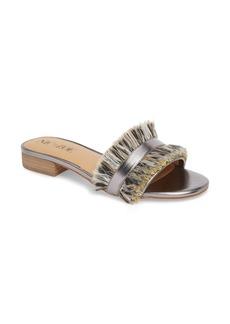 NIC + ZOE Sandy Fringe Slide Sandal (Women)