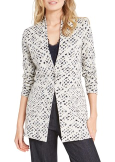 NIC + ZOE NIC+ZOE Abstract Check Blazer (Regular & Petite)