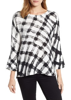 NIC + ZOE NIC+ZOE Checkered Top (Regular & Petite)
