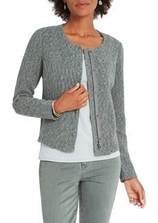 NIC + ZOE NIC+ZOE Fall Nights Crop Knit Jacket