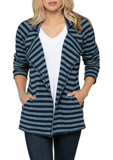 NIC + ZOE NIC+ZOE In Good Order Stripe Cotton Jacket