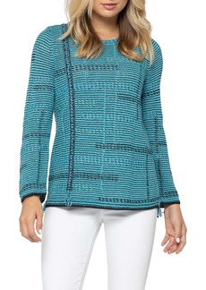 NIC + ZOE NIC+ZOE Line of Work Sweater (Regular & Petite)