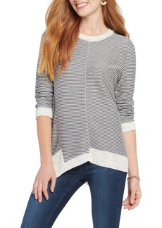 NIC + ZOE NIC+ZOE Spring Fling Stripe Cotton Blend Sweater
