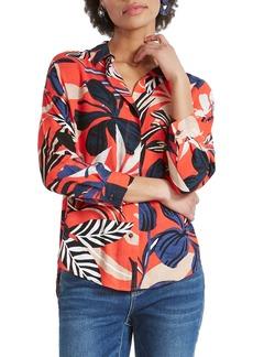 NIC + ZOE NIC+ZOE Tahiti Woven Shirt