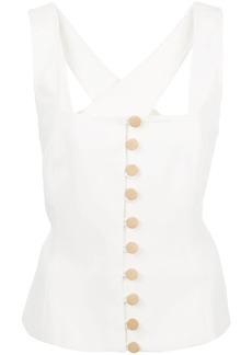 NICHOLAS fitted silhouette top