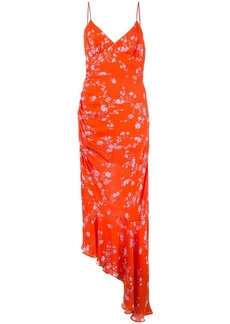 NICHOLAS floral draped dress