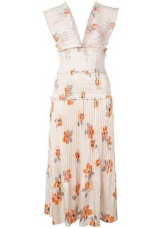 NICHOLAS floral party dress