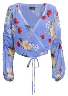 NICHOLAS Floral Wrap Top