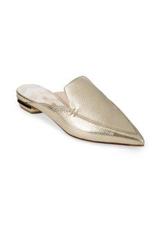 Nicholas Kirkwood Beya Leather Metallic Mule