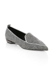 Nicholas Kirkwood Beya Wool Loafers