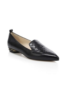 Nicholas Kirkwood Beya Zig-Zag Leather Loafers