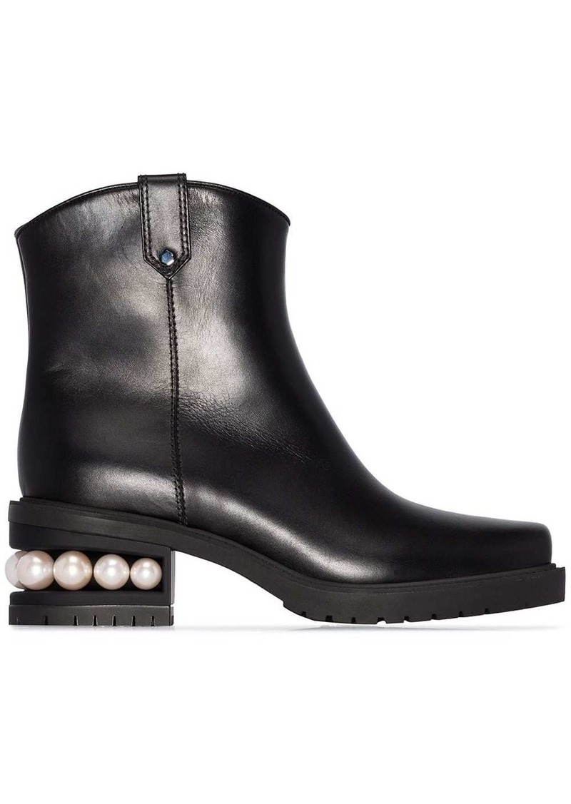 Nicholas Kirkwood Casati Western ankle boots