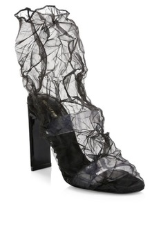 Nicholas Kirkwood D'Arcy Family Sheer Ankle Boots