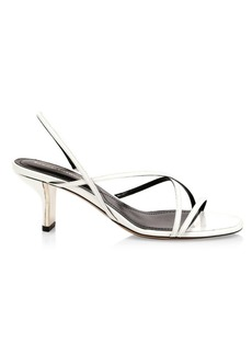 Nicholas Kirkwood Leeloo Leather Strappy Sandals