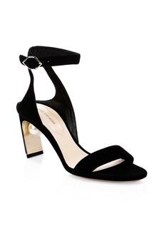 Nicholas Kirkwood Lola Faux Pearl Leather Sandals