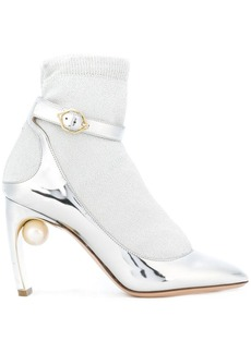 Nicholas Kirkwood Lola pearl sock pumps