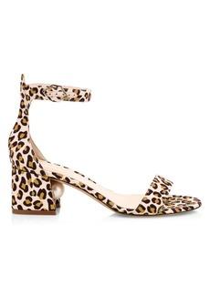 Nicholas Kirkwood Miri Leopard-Print & Faux-Pearl Sandals