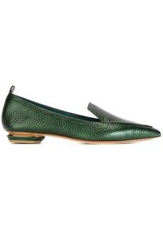 Nicholas Kirkwood 18mm Beya loafers - Green
