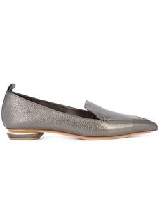 Nicholas Kirkwood 18mm Beya loafers - Metallic