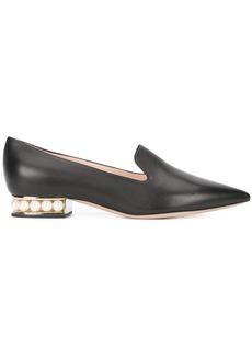 Nicholas Kirkwood 18mm Casati Pearl loafers - Black