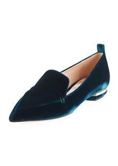 Nicholas Kirkwood Beya 18mm Velvet Loafers