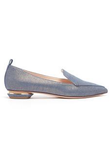 Nicholas Kirkwood Beya denim loafers