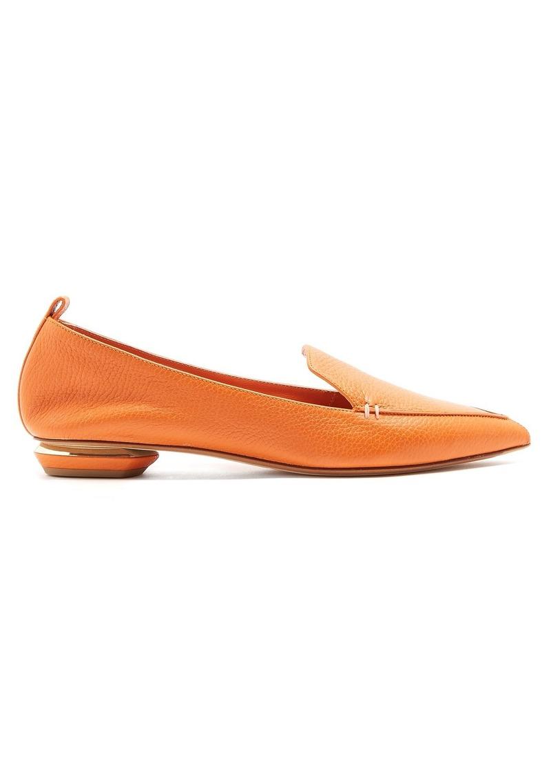 cde0b136e796 Nicholas Kirkwood Nicholas Kirkwood Beya grained-leather loafers