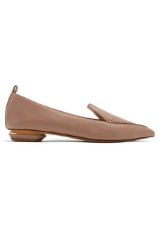 Nicholas Kirkwood Beya grained leather loafers