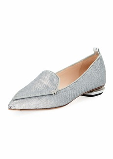 Nicholas Kirkwood Beya Sequined Loafer Flat