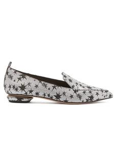 Nicholas Kirkwood Beya star-jacquard loafers