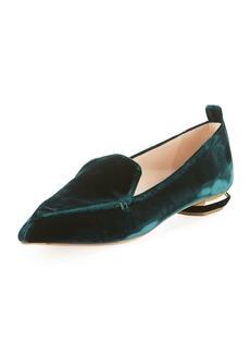Nicholas Kirkwood Beya Velvet Loafer