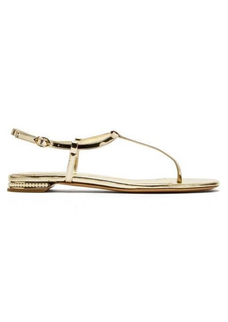 Nicholas Kirkwood Casati faux-pearl-heel leather sandals