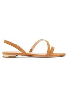Nicholas Kirkwood Casati mini pearl-heeled suede sandals