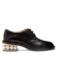 Nicholas Kirkwood Casati pearl-heeled derby shoes