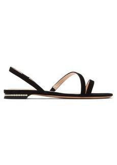 Nicholas Kirkwood Casati pearl-heeled suede sandals