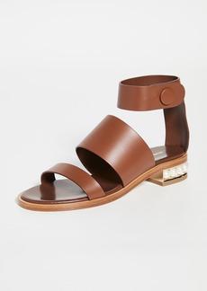 Nicholas Kirkwood Casati Triple Strap 25mm Sandals