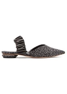 Nicholas Kirkwood Courtney bouclé slingback loafers