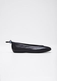 Nicholas Kirkwood Delfi Smooth Leather Ballet Flats