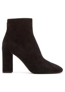 Nicholas Kirkwood Essential mirrored-heel suede ankle boots