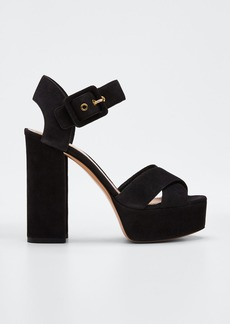 Nicholas Kirkwood Essential Platform Ankle Sandals