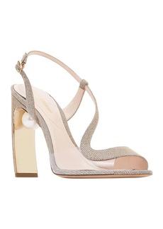 Nicholas Kirkwood Meava Pearly Slingback Sandals