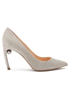 Nicholas Kirkwood Mira pearl-heeled pumps
